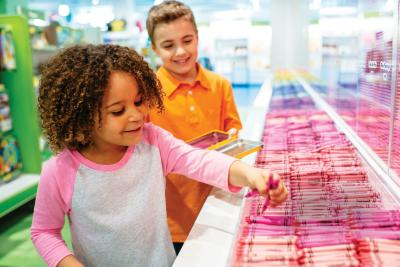 Pick Your Pack at Crayola Experience, Lehigh Valley