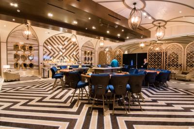 del Lago poker tables