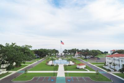 Centennial Plaza aerial
