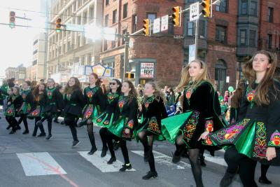 Scranton St. Patrick's Parade Irish Dancers