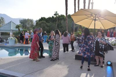 CVB Meet & See at the Merv Griffin Estate in La Quinta