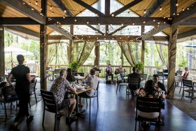 Palmetto's on the Bayou, patio, culinary