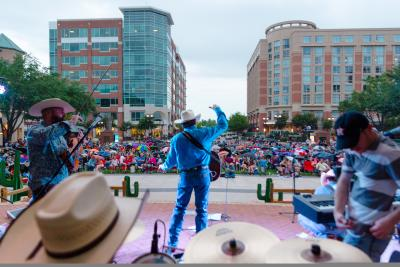 Tribute to George Strait performing at Red, White, Blues & Brews