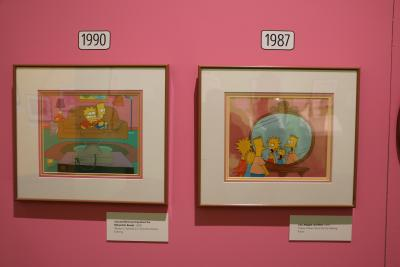 Bart at TAM: Animating America's Favorite Family
