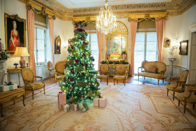 Nemours Estate Christmas Tree