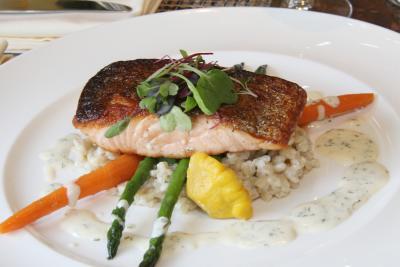 Salmon Dish at Buckley's Tavern in Wilmington, DE