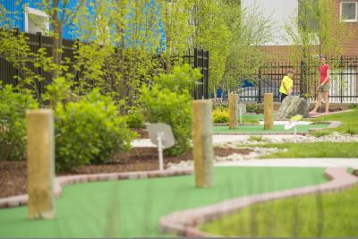 Mini Golf on the Riverfront