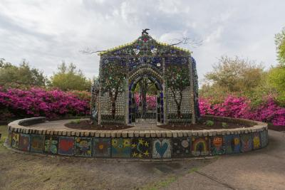 Minnie Evans Bottle Chapel at Airlie Gardens