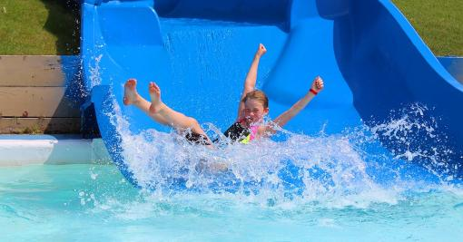 Fun Mountain water park in Winnipeg Manitoba