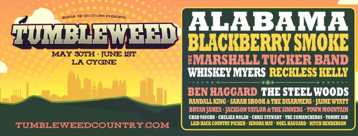 Tumbleweed Festival Ad 2019