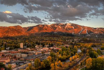 Scenic Fall Downtown Steamboat Springs