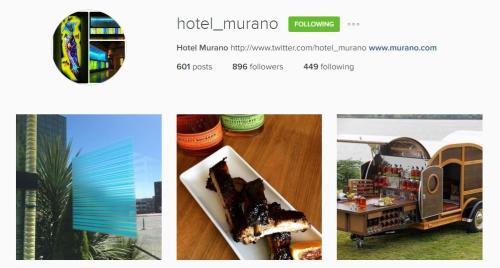 Hotel Murano Instagram