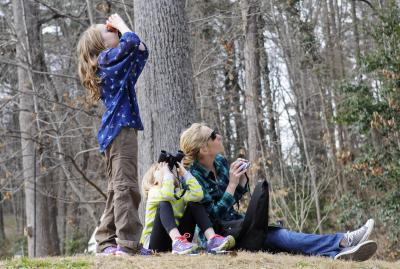 Family at the Nature Center