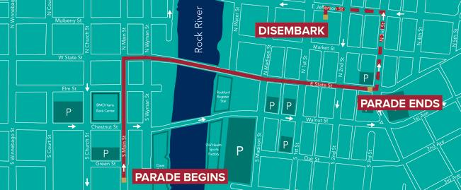 2018 stroll on state parade route