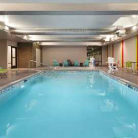 Indoor Pool (Hot Tub not pictured) Our saline, chemical-free pool maintained w/ natural minerals