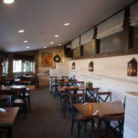 Dine is a historic flour mill at Archibald's Restaurant at Gardner Village