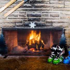 ski boots fire