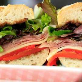 Caputo's sandwich