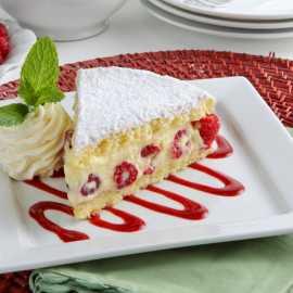 Raspberry Almond Torte