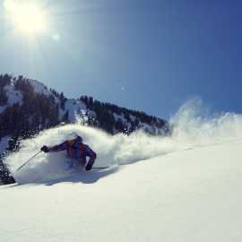 Alta - providing great powder skiing since 1938.