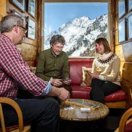 Apres ski at the Sitzmark bar at Alta Lodge.