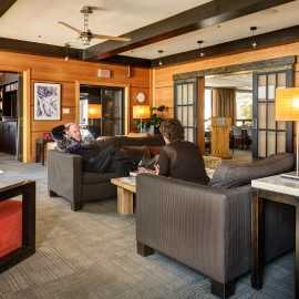 The Alta Lodge lobby.