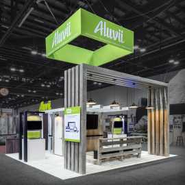 Aluvii 20x20 Booth