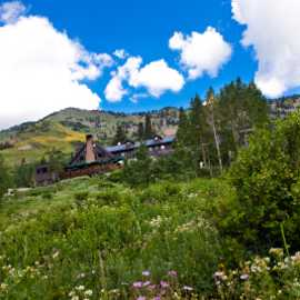 Alta Lodge during summer season