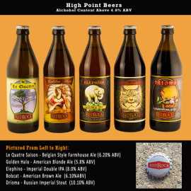 Hight Point Beers