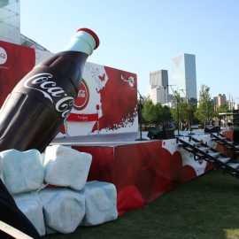 Fun Event with Coca Cola