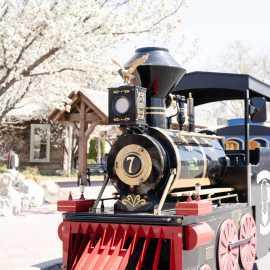 The Gardner Village Express Mini Train
