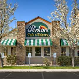 Perkins Cafe and Bakery is located at Fairfield Inn and Suites by Marriott Salt Lake City Airport