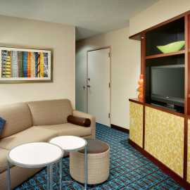 Executive King Suites at the Fairfield Inn and Suites by Marriott Salt Lake City Airport
