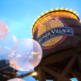 Host  your party at Gardner Village