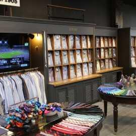 Store Interior: Shirt Wall