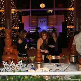 4 chocolate fountains? Sure, we can do that.