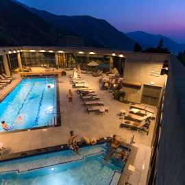 Pool at the Cliff Spa