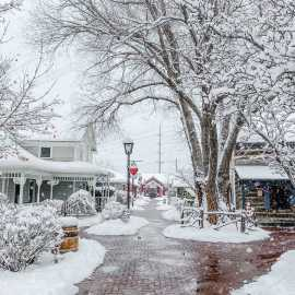 Winter Magic at Gardner Village