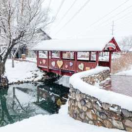 Gardner Village Winter Magic