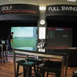 Indoor Golf Simulator - Golf Anytime