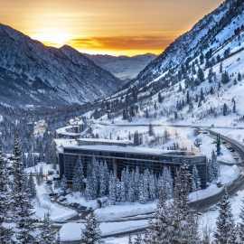 The Cliff Lodge — Winter