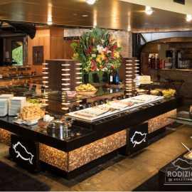 Salad bar at Rodizio Grill