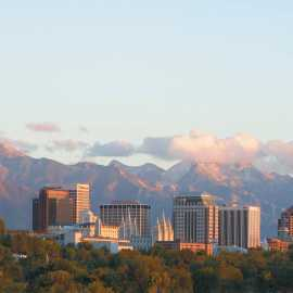 Salt Lake Summer Skyline