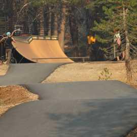 Rideable Path at Woodward Park City