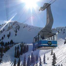 Snowbird's iconic Aerial Tram.
