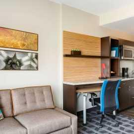 Suite Kitchen/Desk Area