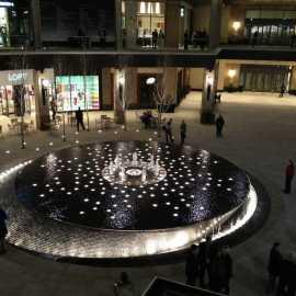 Fountain at City Creek