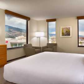 Suite View and Bedroom