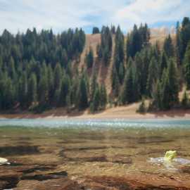 Desolation Lake, your goal, photo by Brant Hansen
