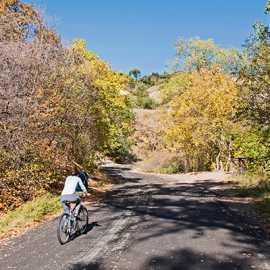 Riding City Creek Canyon Road, photo by Kyle Jenkins